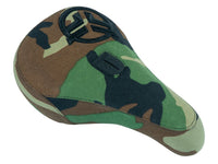 Federal Mid Pivotal Logo Seat - Camo With Camo Base And Raised Black Embroidery