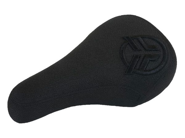 Federal Mid Stealth Logo Seat / Black With Raised Black Embroidery