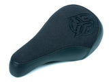 Federal Mid Stealth Logo Seat / Black Canvas w/ Faux Leather Panels