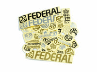Federal 39pc Sticker Pack / Multicolour