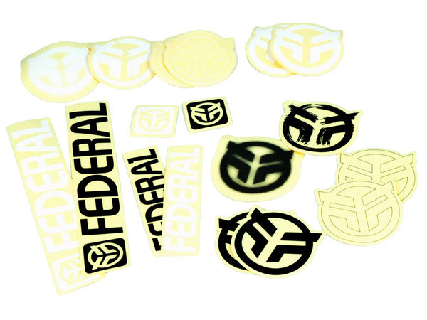 Federal 18pc Sticker Pack / Multicolour
