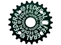Federal Logo Solid Sprocket / Black / 25T