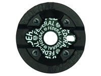 Federal Logo Solid Sprocket With Impact Guard / Black / 25T