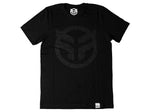 Federal Logo T-Shirt / Black/Black / L