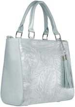 Load image into Gallery viewer, Handbag Pilar Plata Cincelado