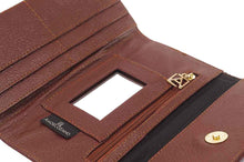 Load image into Gallery viewer, Embossed Trifold leather wallet #101