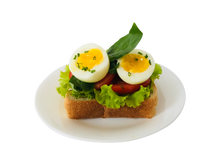 TOMATO,  EGG  &  PESTO  SANDWICH