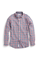 Regular fit overhemd met plaid print