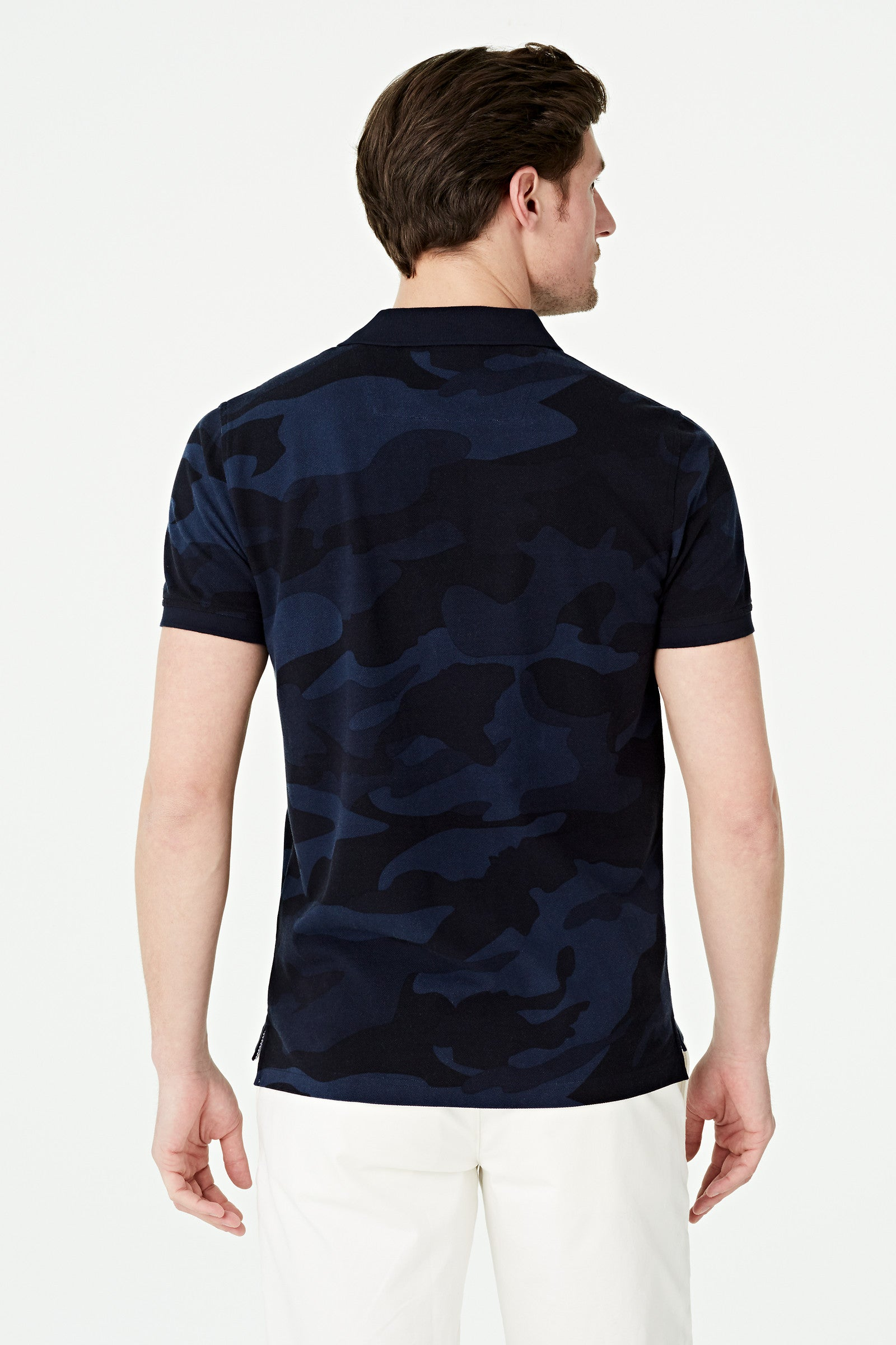 Camouflage Pique Polo Regular Fit