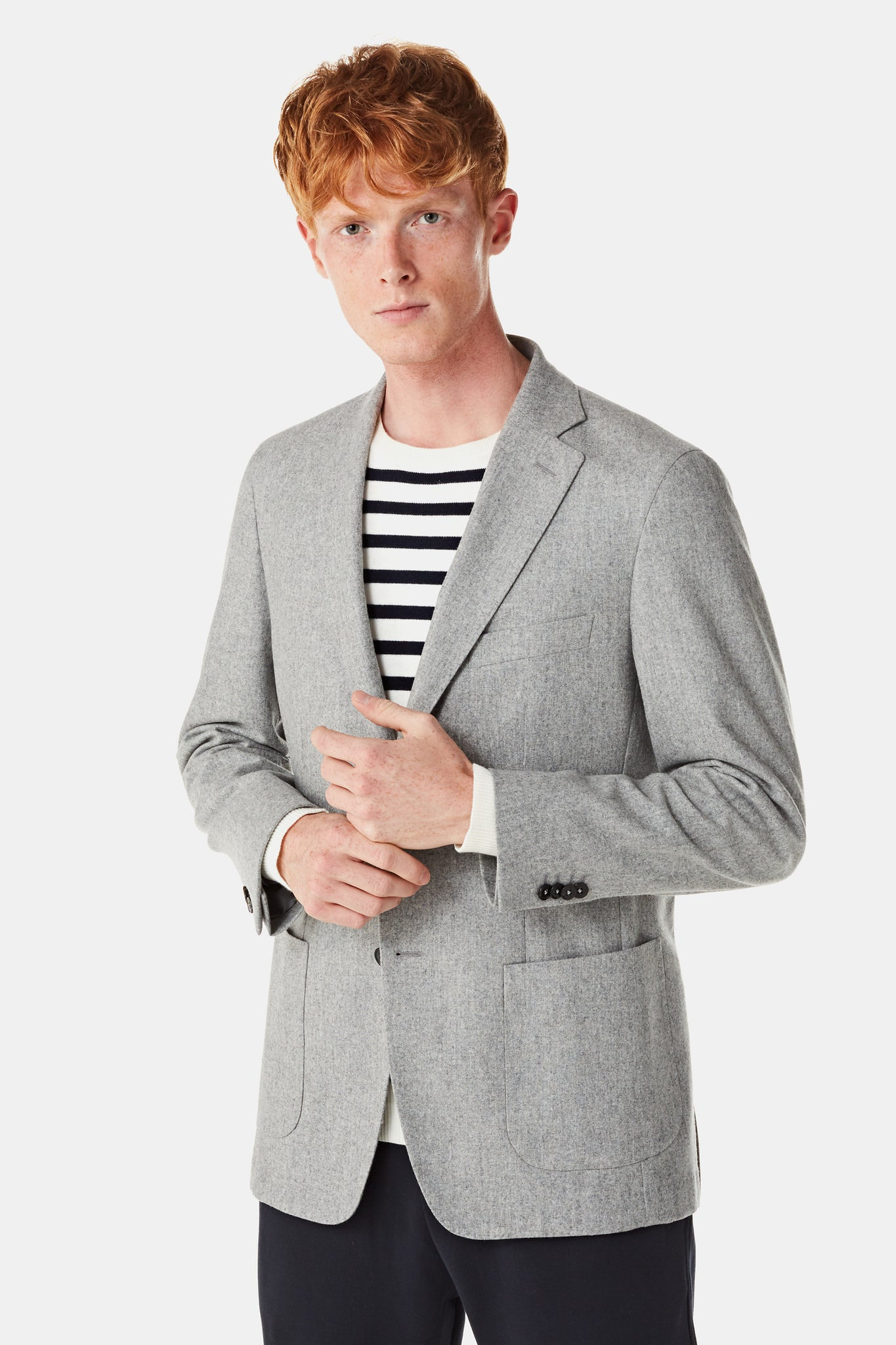 Classic wollen blazer regular fit