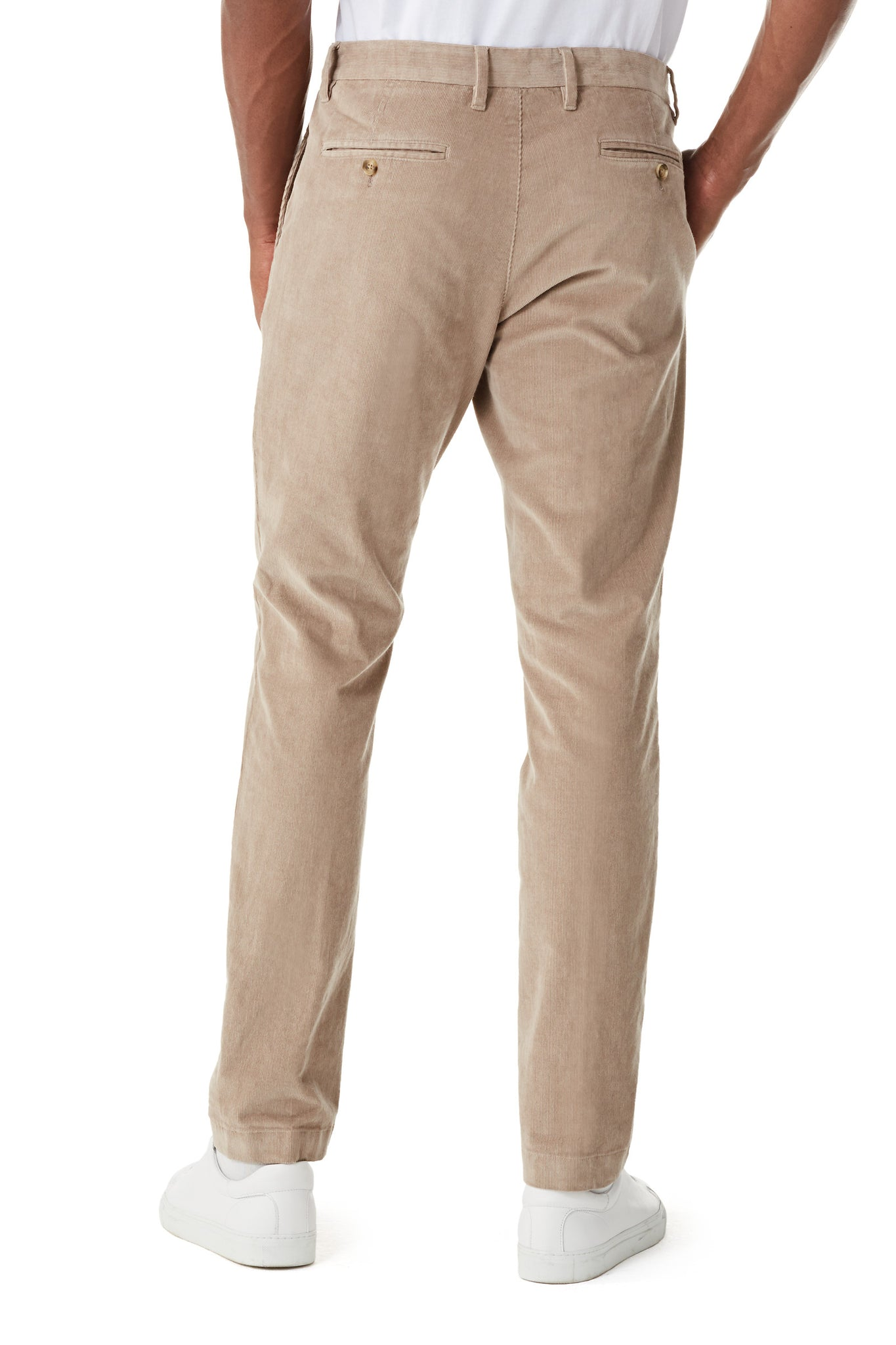 Slim Fit chino van corduroy