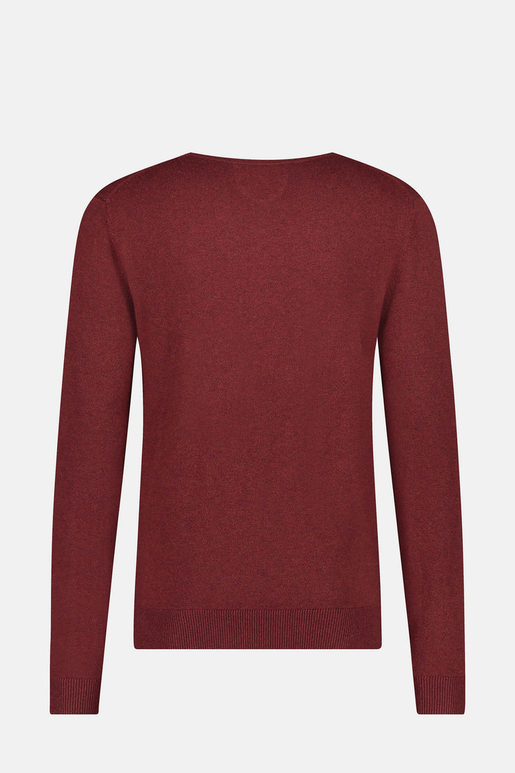 Essential V-hals Sweater in wool blend