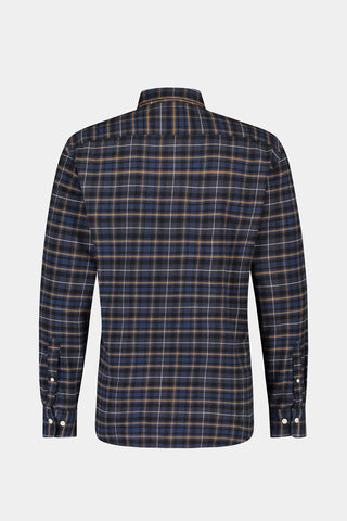 Regular fit overhemd met plaid ruit