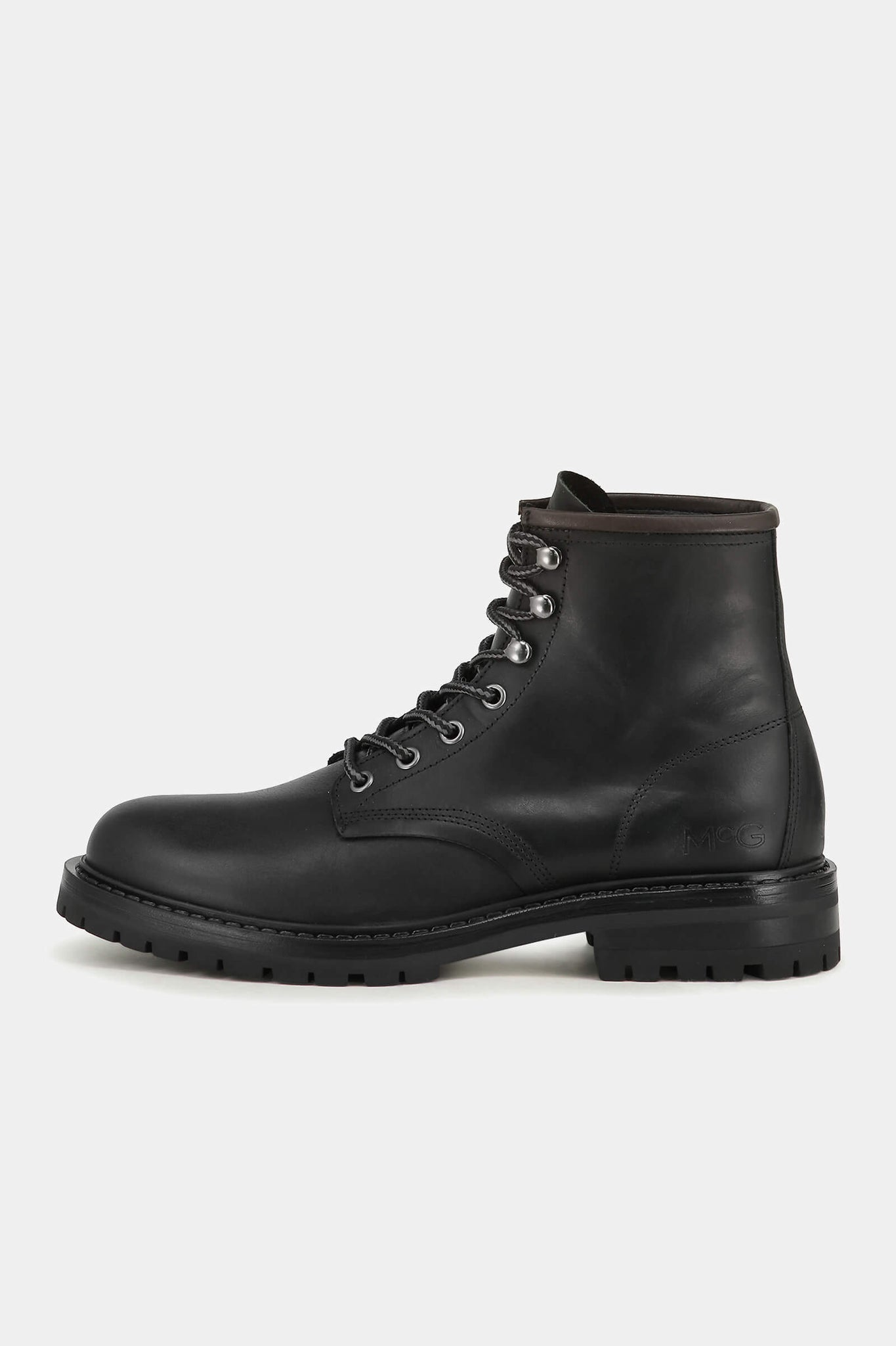 Leren worker boot