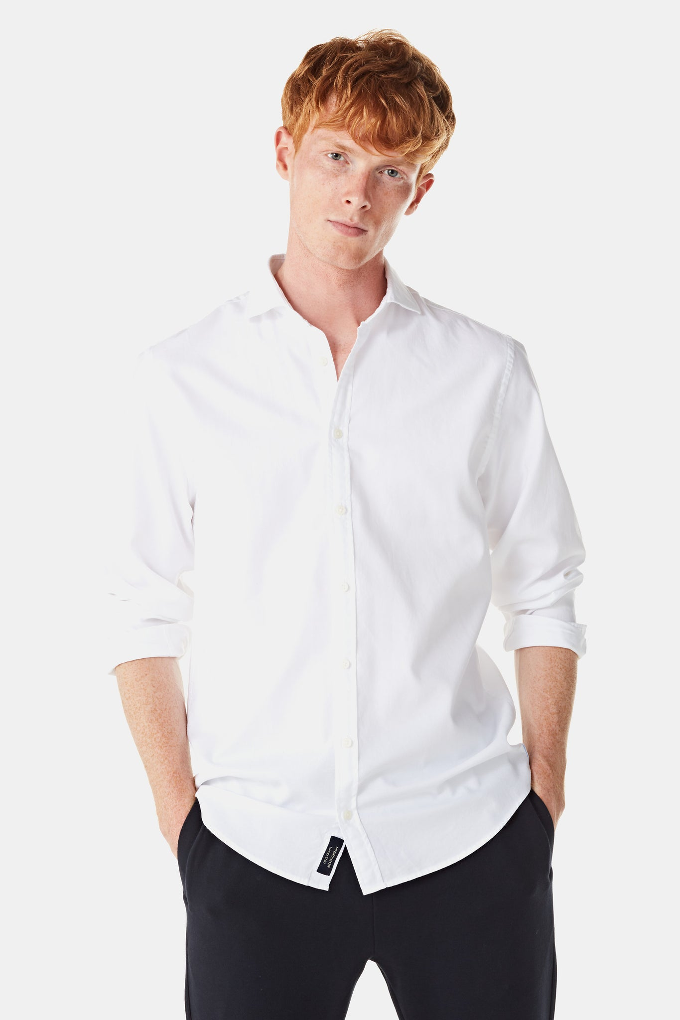 Regular fit  overhemd Perfect White