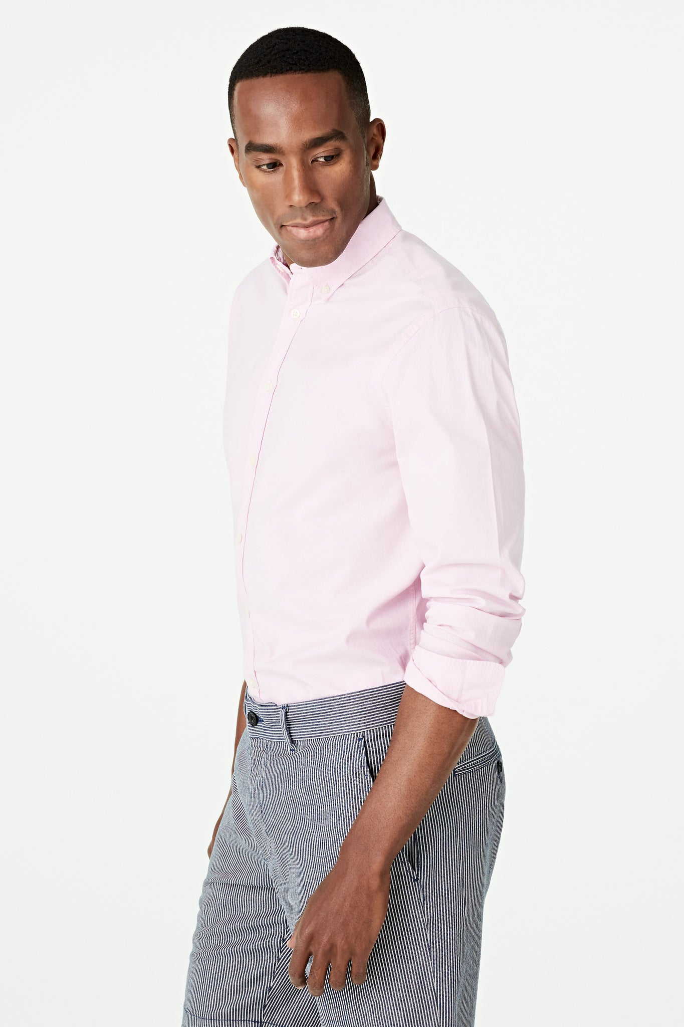 Stretch Oxford Shirt Regular Fit