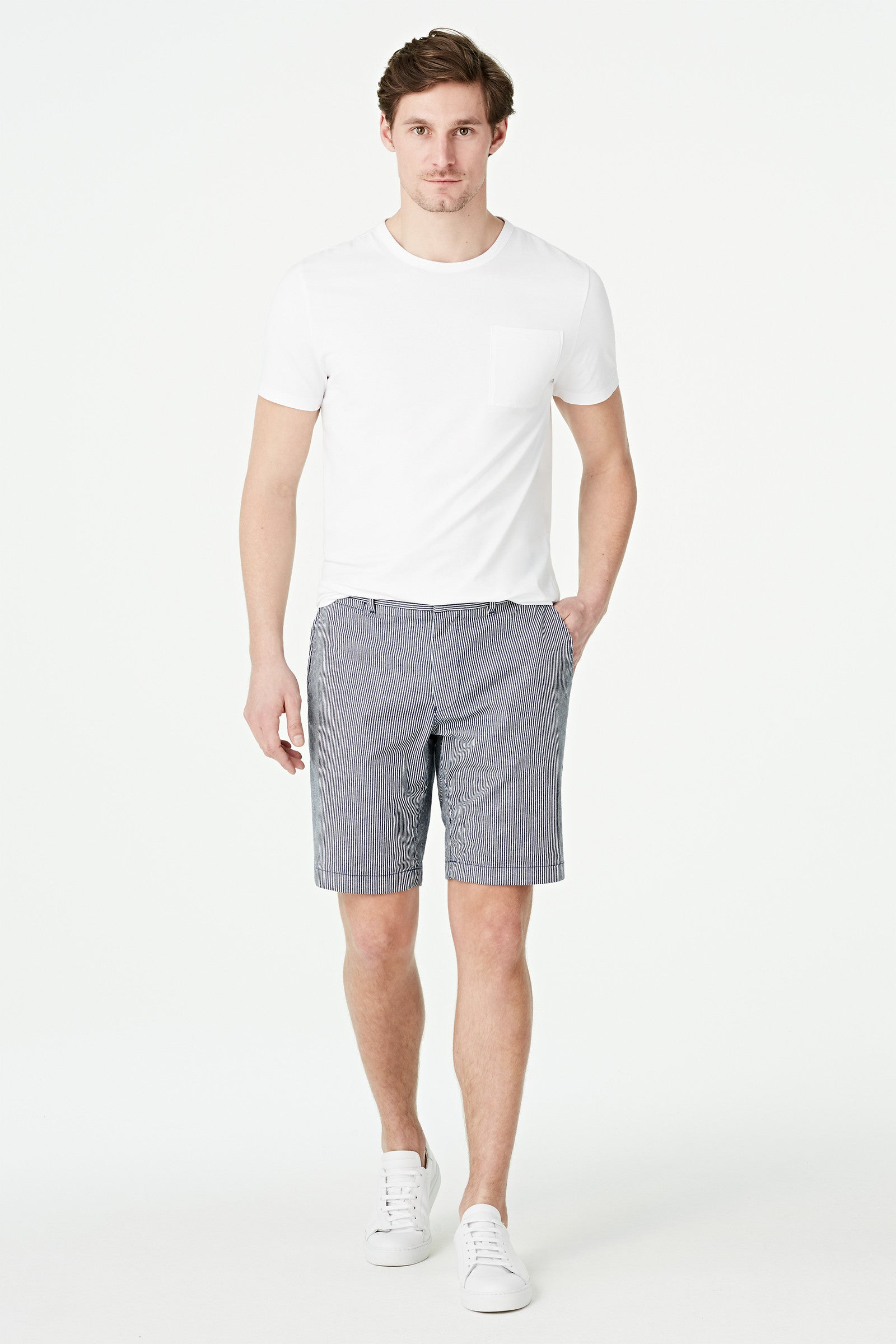 Stripe Chino Short