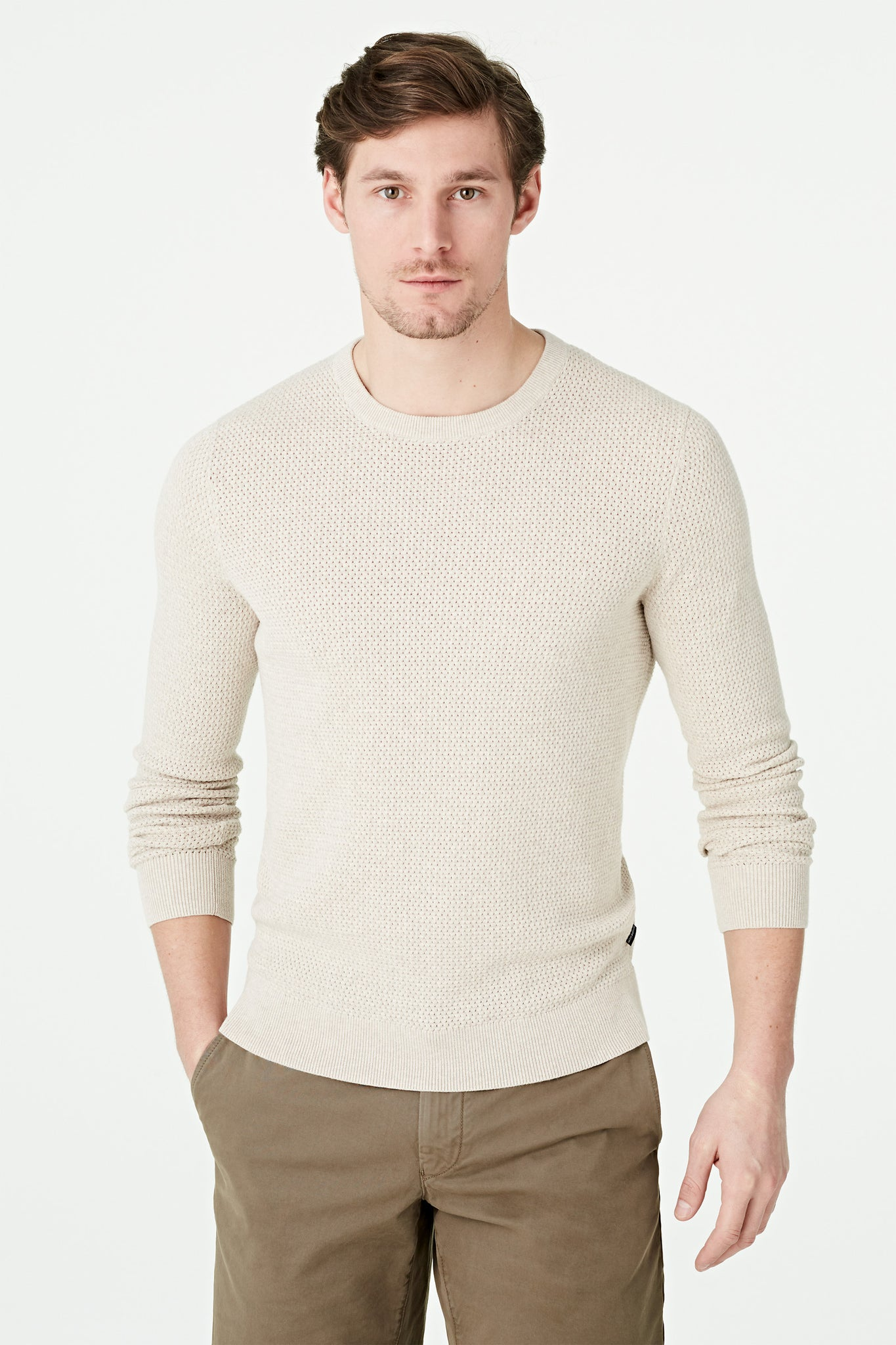 Structure Crew Neck Sweater