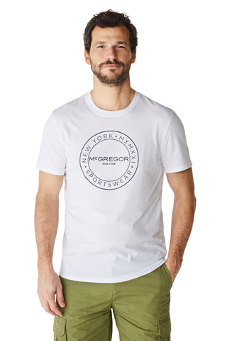 McG Regular fit T-shirt met logo