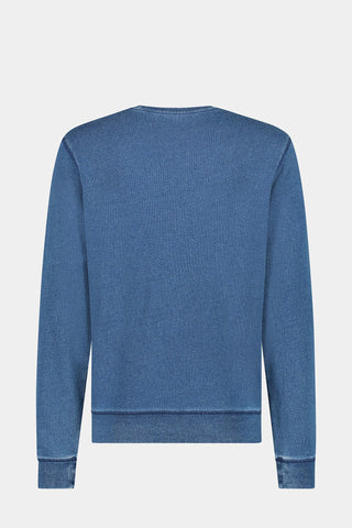 McG Indigo crew neck sweater