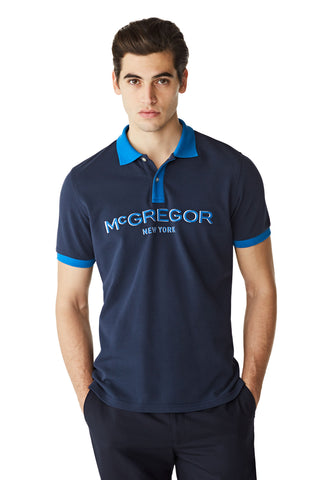McG Regular fit polo met logo