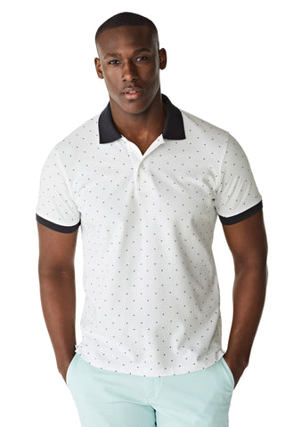 McG Regular fit polo met mini-print