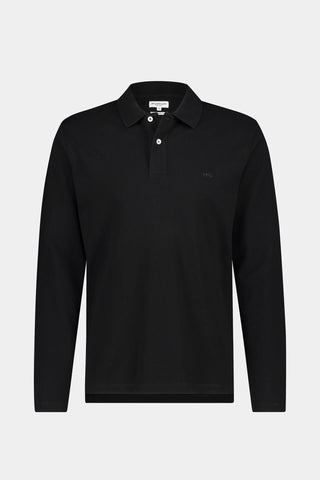 McG Regular fit pique longsleeve polo