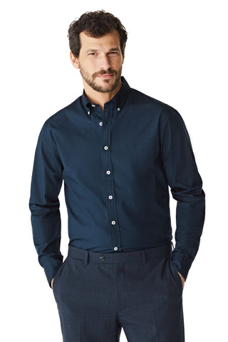 McG Regular fit Poplin overhemd met stretch