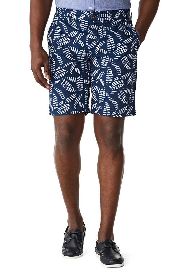 McG Regular fit short met palmprint