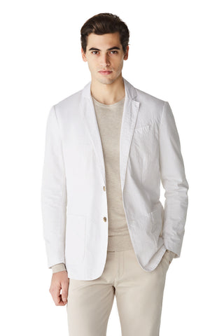 McG Regular fit seersucker blazer