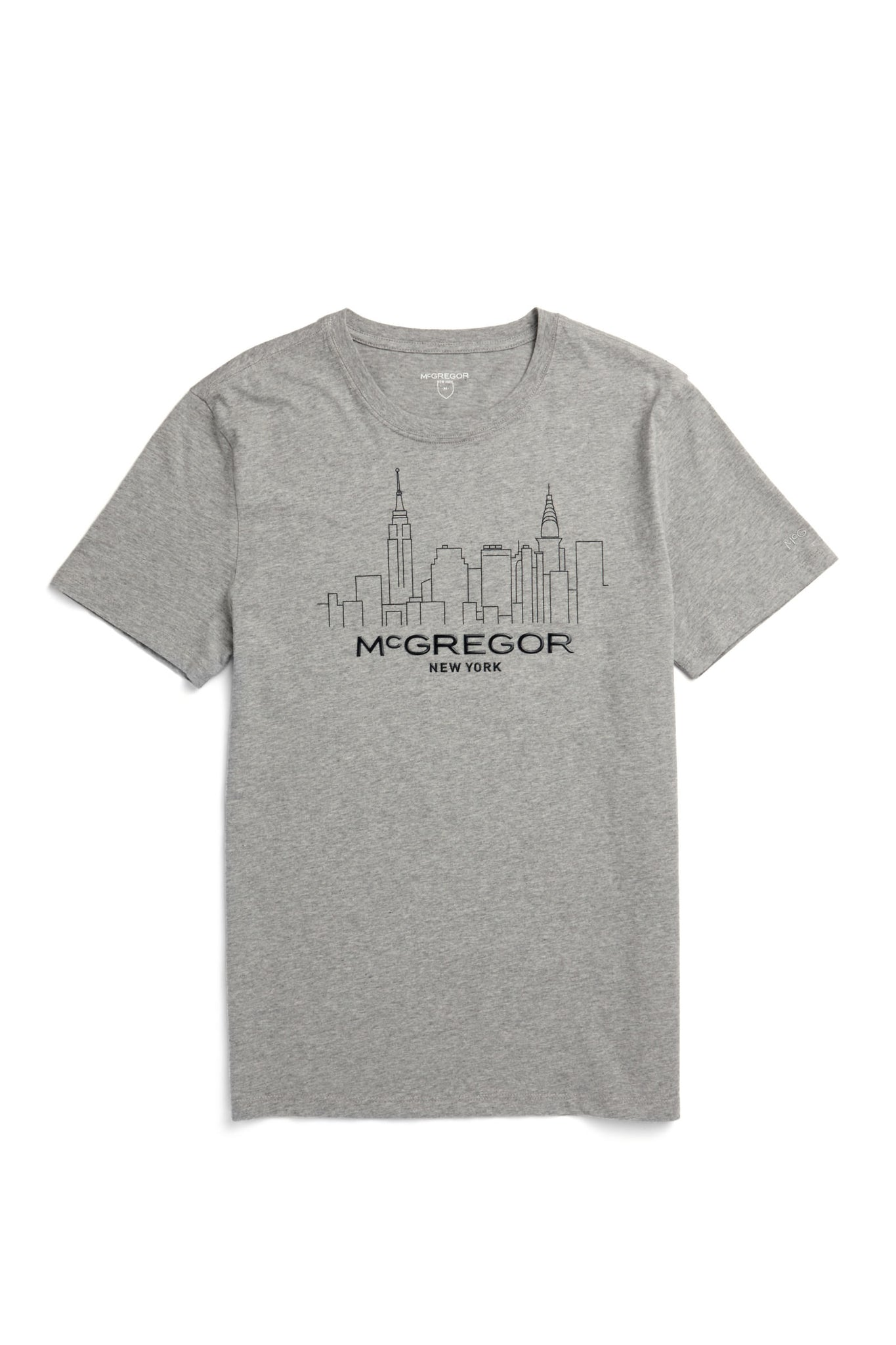 McG Regular fit T-shirt met New York Skyline