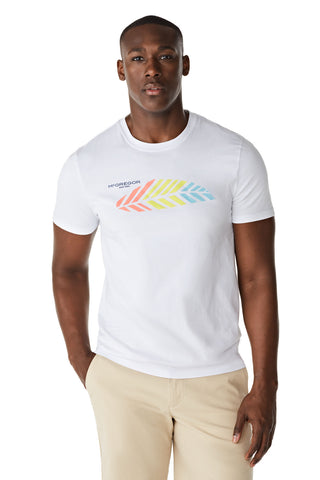 McG Regular fit T-shirt met palmprint