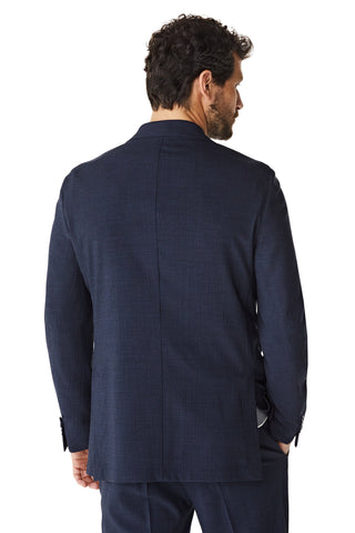 Regular fit blazer van wolmix