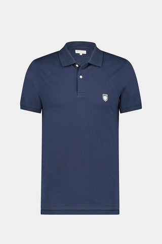 McG Slim fit pique polo met stretch
