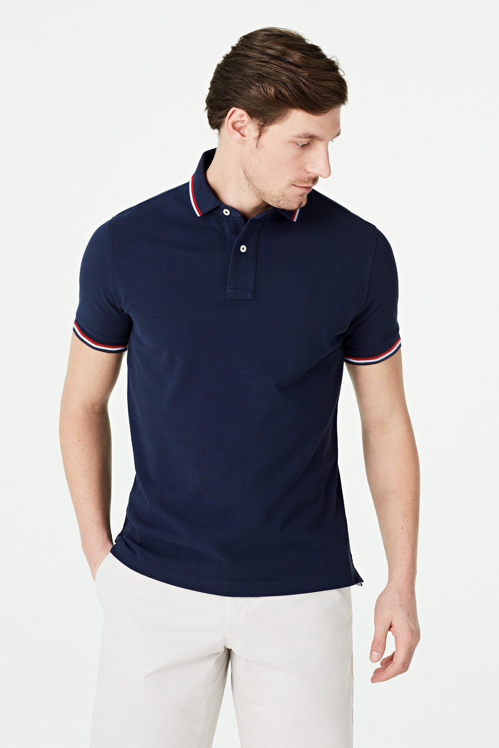 Tipping Pique Polo Regular Fit