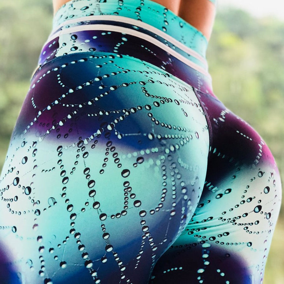 Women's Water Droplets Leggings