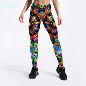 Women's Floral Fantasia Leggings