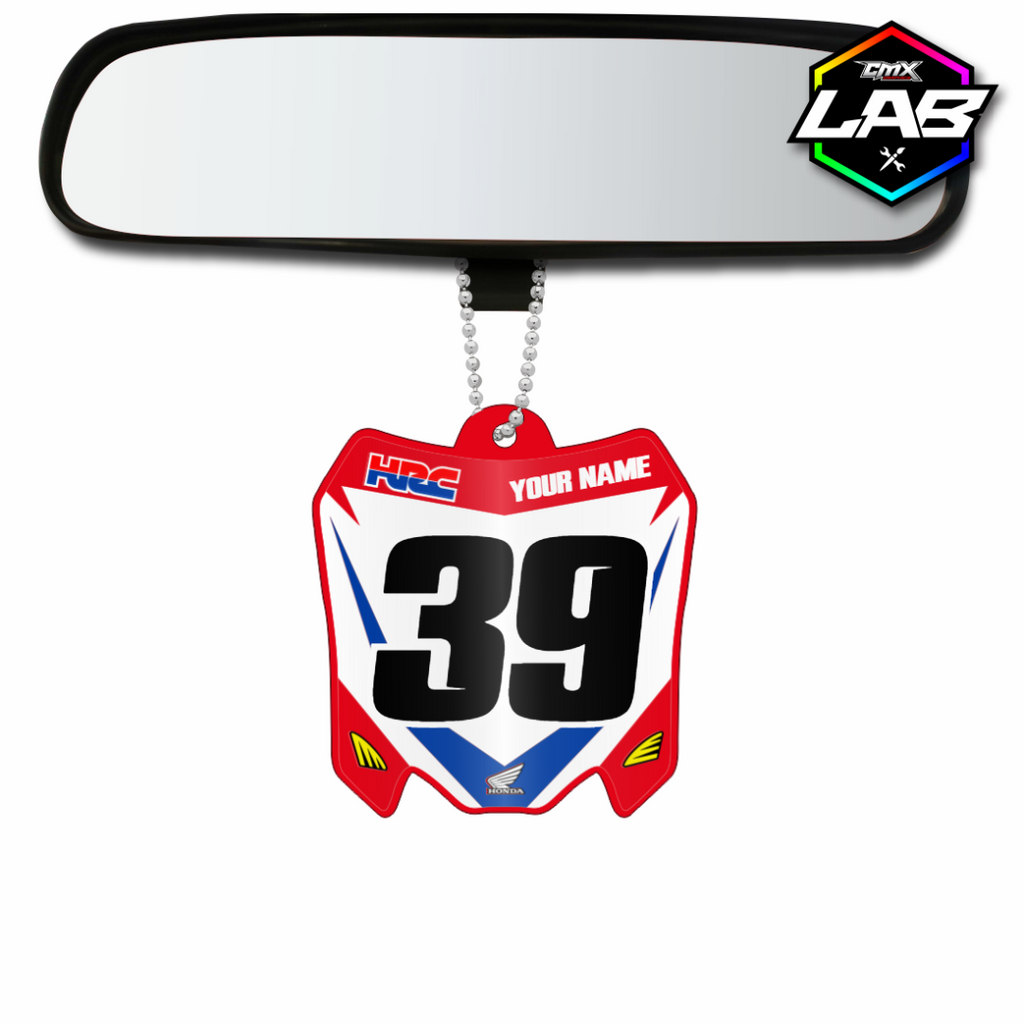 Double Sided Car Pendant Honda 01 - Design 02