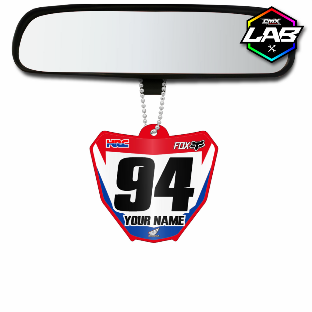 Double Sided Car Pendant Honda 02 - Design 01