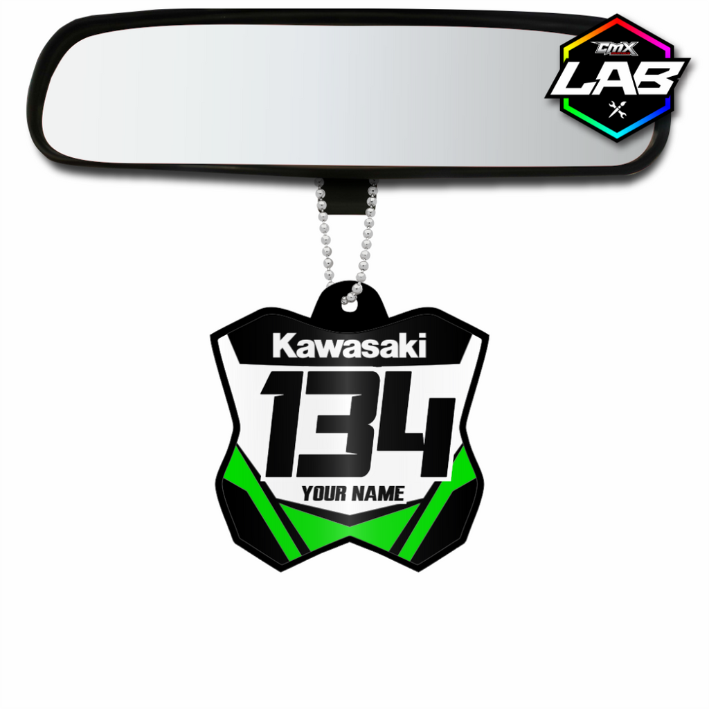 Double Sided Car Pendant Kawasaki 02 - Design 03