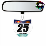 Double Sided Car Pendant KTM 01 - Design 02