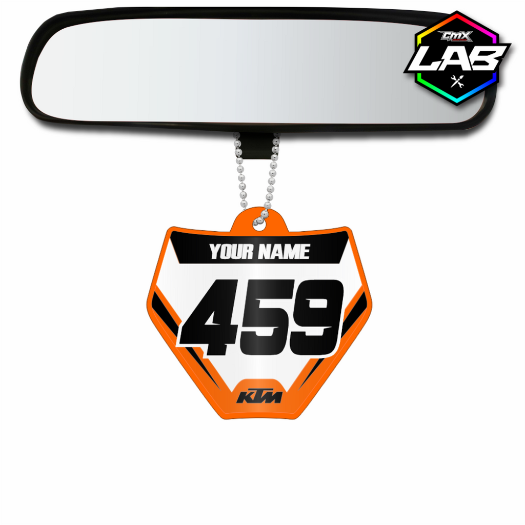 Double Sided Car Pendant KTM 02 - Design 04