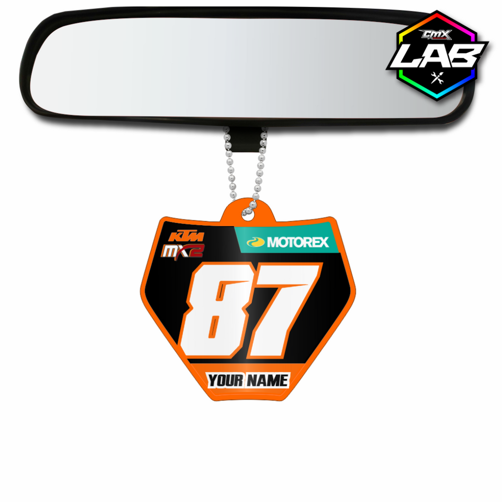 Double Sided Car Pendant KTM 02 - Design 06