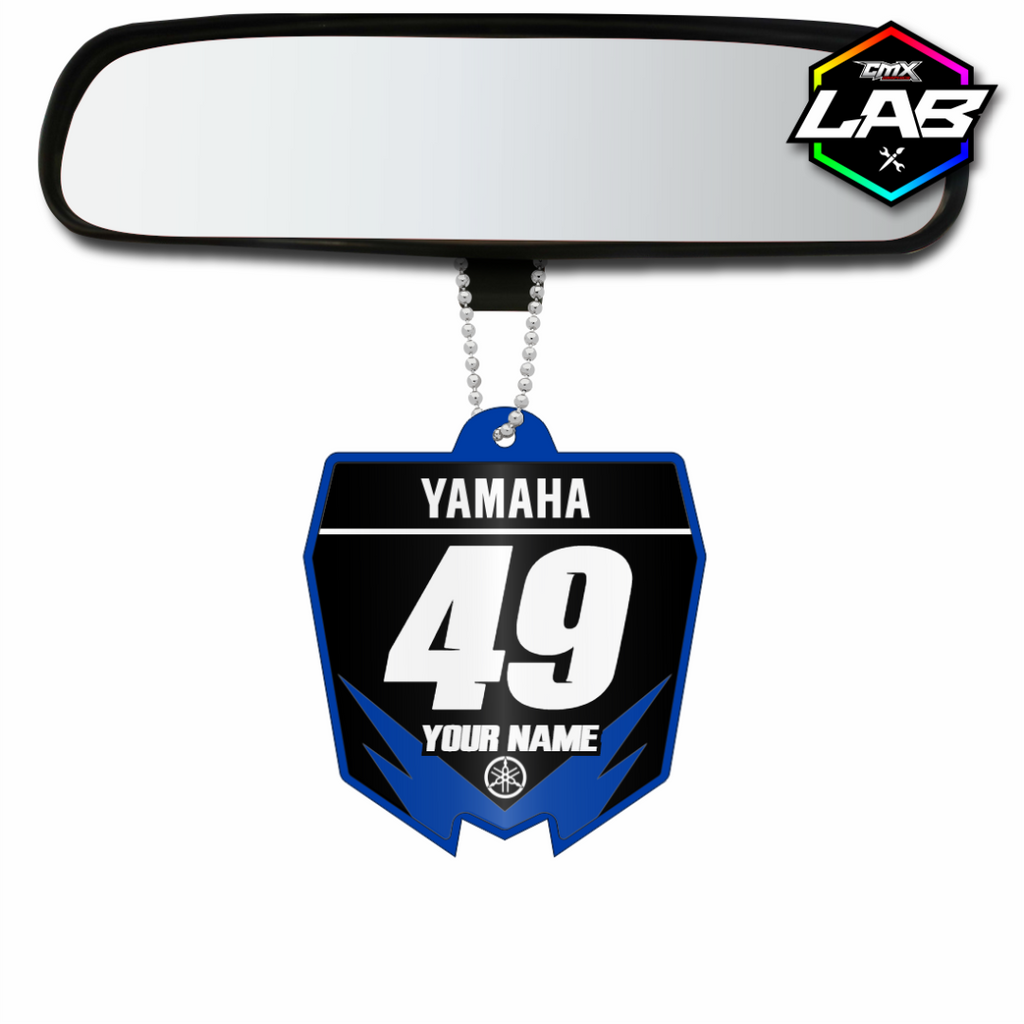 Double Sided Car Pendant Yamaha - Design 05