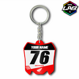 Double Sided Keychain Honda 01 - Design 04