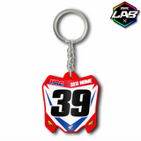 Double Sided Keychain Honda 01 - Design 02
