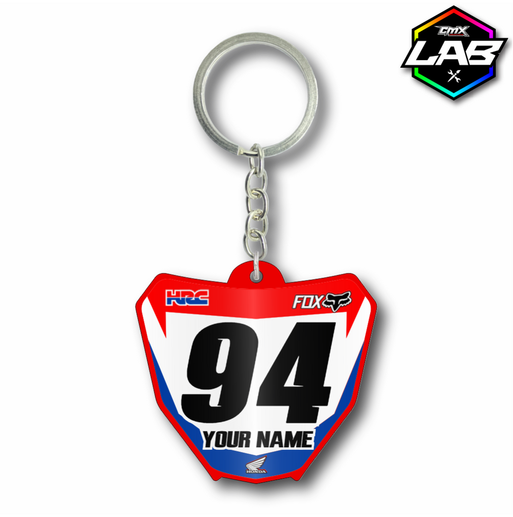 Double Sided Keychain Honda 02 - Design 01