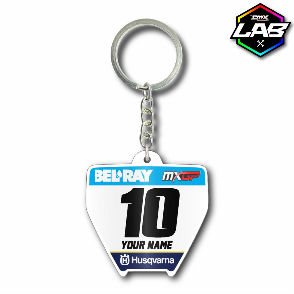 Double Sided Keychain Husqvarna 01 - Design 02
