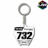 Double Sided Keychain Husqvarna 01 - Design 03