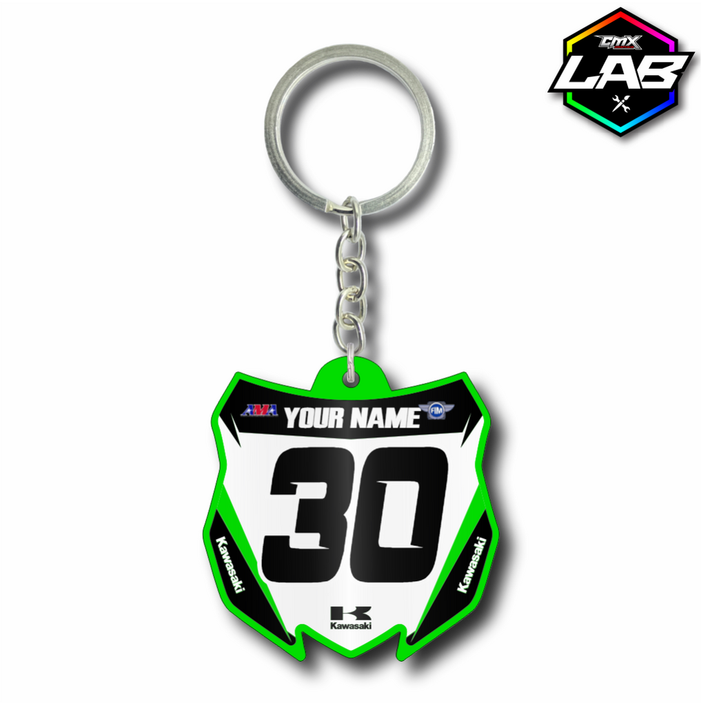 Double Sided Keychain Kawasaki 01 - Design 01